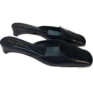 Kate Spade backless slip on dress shoes size 7.5